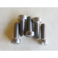 "Machine Screw #10-24 x 5/8"" Fillister Slotted Head polished Stainless Steel  [202.0803]"