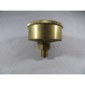 "Brass Grease Cup 1/4"" BSP 2"" Dia. 20cc. Capacity Fully Machined (500.C020)"
