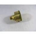 "Brass Grease Cup 1/8"" BSP 1-1/4"" Dia. 15cc. Capacity Fully Machined (500.C015)"