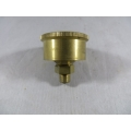 "Brass Grease Cup 1/8"" BSP 1-1/2"" Dia. 20 cc. Capacity Fully Machined (500.C017)"