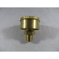 "Brass Grease Cup 1/4"" BSP 1-1/2"" Dia. 20 cc Capacity Fully Machined (500.C018)"