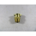 "Brass Oil Cup Spring Lid 0.5"" Dia. 1/4"" BSP Thread (500.CO1812)"