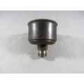 "Grease Cup Steel 1/4"" BSP Thread 1-1/2"" Dia. 20cc Capacity Pressed Steel, Blued (500.S414)"