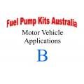 Fuel Pump Kits alphabetical beginning with B