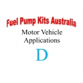 Fuel Pump Kits alphabetical beginning with D