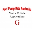 Fuel Pump Kits alphabetical beginning with G