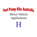 Fuel Pump Kits alphabetical beginning with H