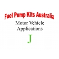 Fuel Pump Kits alphabetical beginning with J