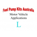 Fuel Pump Kits alphabetical beginning with L