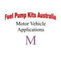 Fuel Pump Kits alphabetical beginning with M