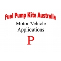 Fuel Pump Kits alphabetical beginning with P