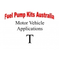 Fuel Pump Kits alphabetical beginning with T