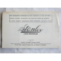 STANLEY STEAMER 1908 MODELS BROCHURE GENUINE EARLY 1950s FLOYD CLYMER REPRINT (401.STANLEY08)