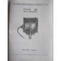 Wico Magneto Type EK Factory Instruction Manual A4 Size Inc Specs (450.WicoDataA4)