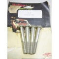 "Holley 26-8 Fuel Bowl Screw kit of 4, 1 7/8"" 4160, 1850, 3310, many more (900.26-8)"