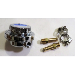 SYTEC PRO54 fuel pressure regulator adjustable 1 to 5 psi 8mm tails Pro-Flow highly accurate [900.PRO54]
