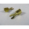 Spark Plug Terminal 7mm High Tension Brass Forked Type (102.0030)