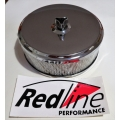 "Sports Air Filter Chrome 163mm SU 1 3/4"" [900.16-2-0]"