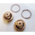 "Fuel Pump Valves & Gaskets 19mm (3/4"") caged type, per Pair (900.FPV198)"