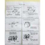 Holley 94, 2100, 2110, AA-1 Ford V8 International Mercury overhaul kit [900.HK446]