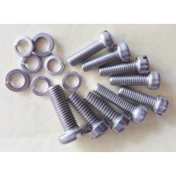 Holley 94 Stainless Steel Screw Set Ford Flathead V8, Lincoln V12 also suits 2100, 2110 & 59 Carbs (900.DS12-9)
