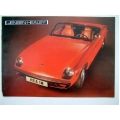 JENSEN HEALEY BROCHURE 1974 Full Colour 8 Page Type 1 (401.JHealeyBroch01)