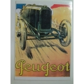 Peugeot early 1900s Colour Poster A3 Size (407.Peug1900sA3)