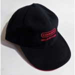 CONOCO Oil Co black Logo baseball cap genuine Authorised Product (800.CBCAP)