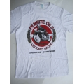 T SHIRT NOSTALGIA LAKESIDE MOTORCYCLE MEETING 1992 ADULT SMALL (16) WHITE NEW (800.TWA1692)